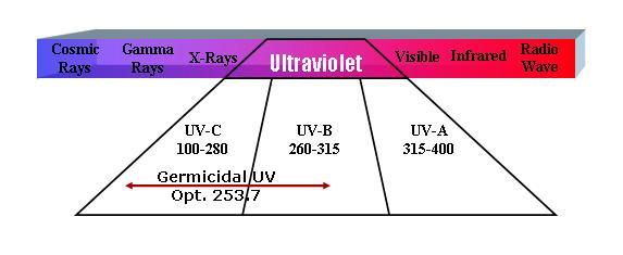 Ultraviolet UV rays